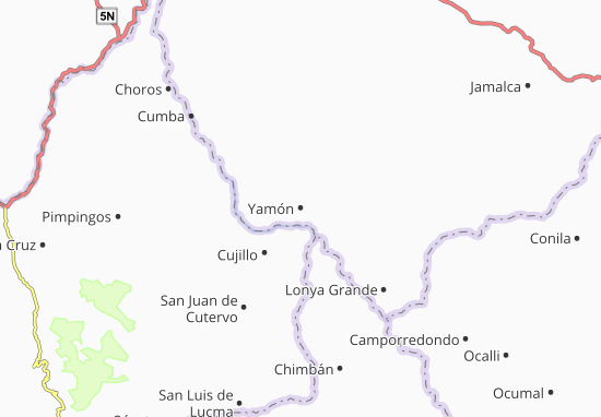 Yamón Map