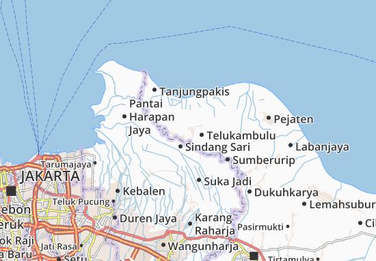 Baatujaya Map