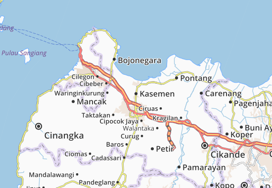 Kasemen Map