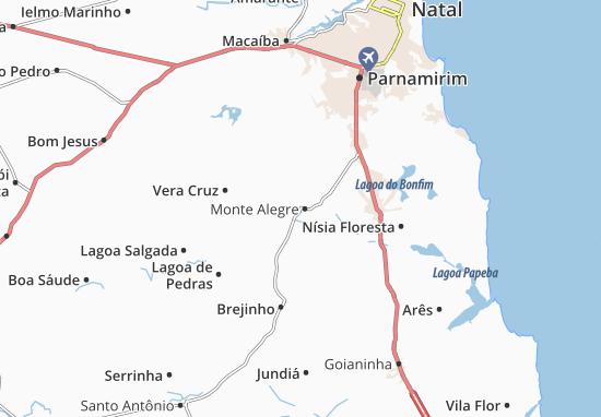 Mapas-Planos Monte Alegre