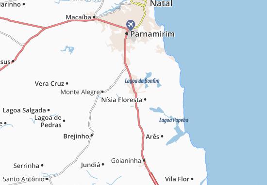 Mappe-Piantine São José de Mipibu