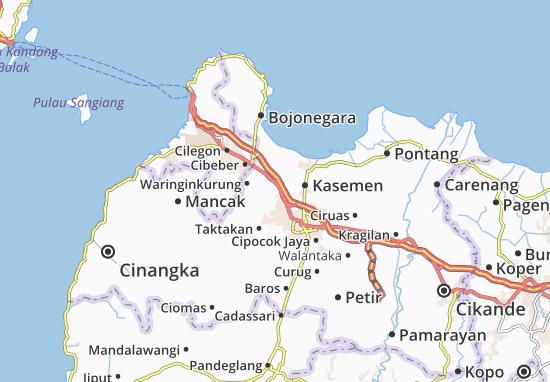 Kramat Watu Map