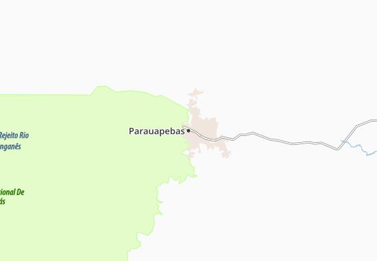 Mapa Parauapebas