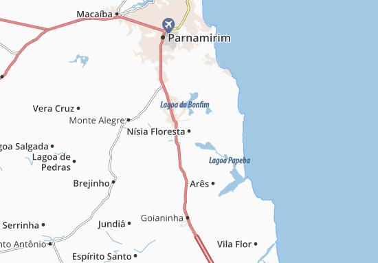 Mapas-Planos Nísia Floresta