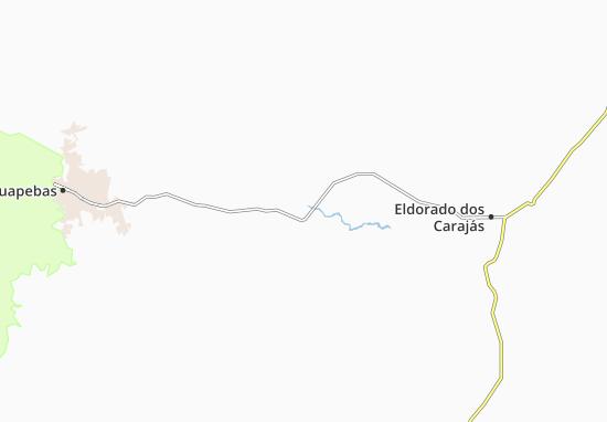 Carte-Plan Curionópolis