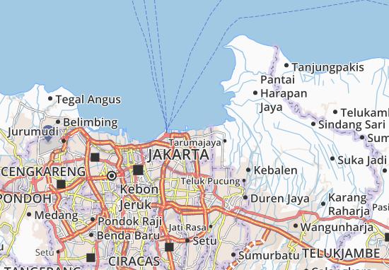 Mapas-Planos Kali Baru