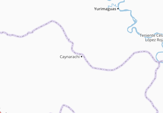 Caynarachi Map