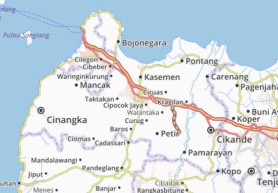 Serang Map