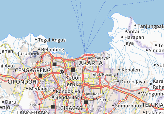 Mapa Tanjung Priok