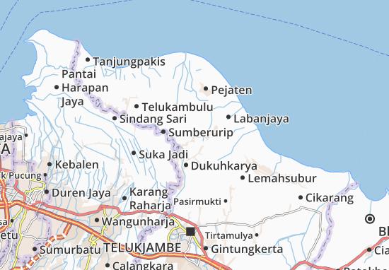 Rengasdengklok Map