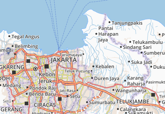 Mapa Tarumajaya
