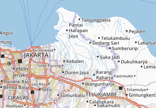 Tambelang Map