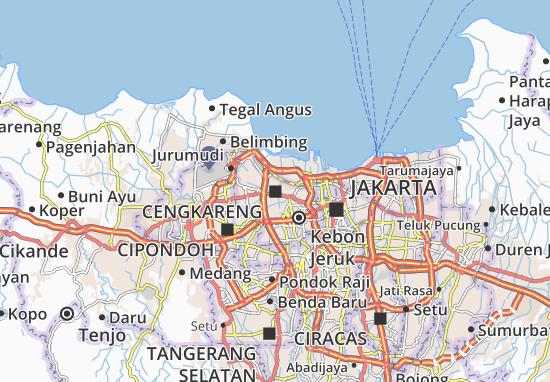 Mapas-Planos Cengkareng