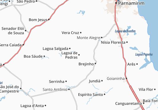 Mappe-Piantine Lagoa de Pedras