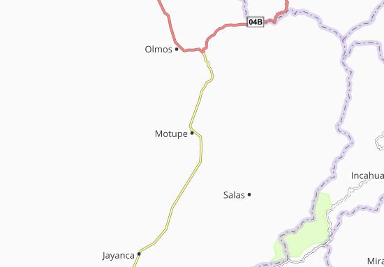 Karte Stadtplan Motupe