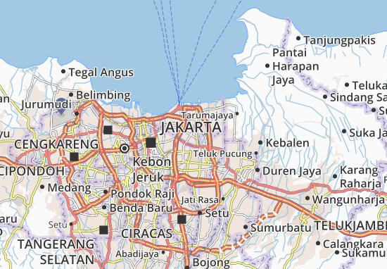 Kelapa Gading Map