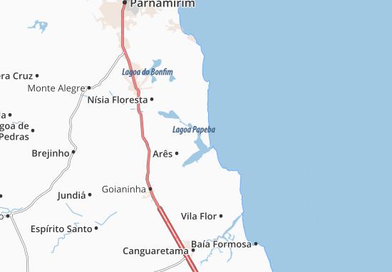 Senador Georgino Avelino Map