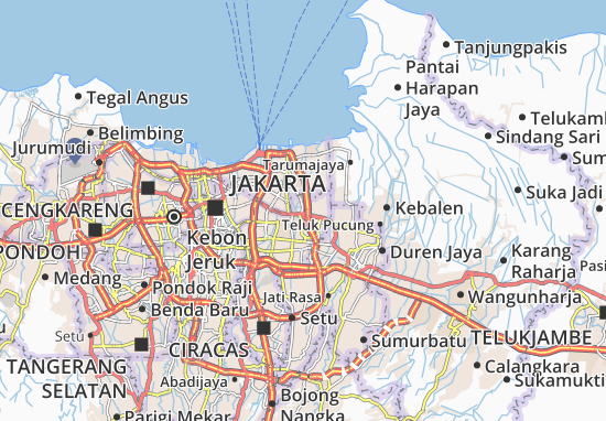 Rawa Terate Map