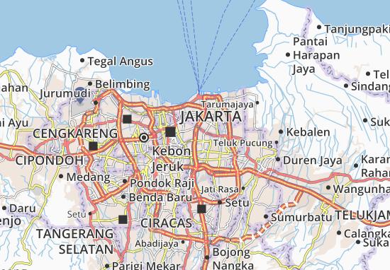 Cempaka Putih Map