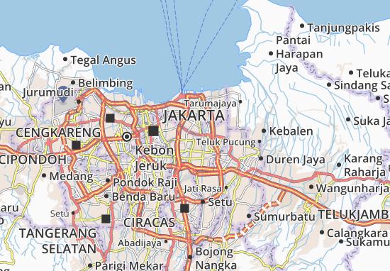 Pulo Gadung Map