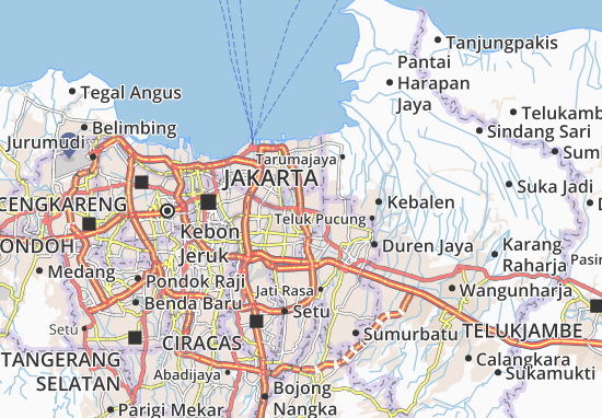 Cakung Map