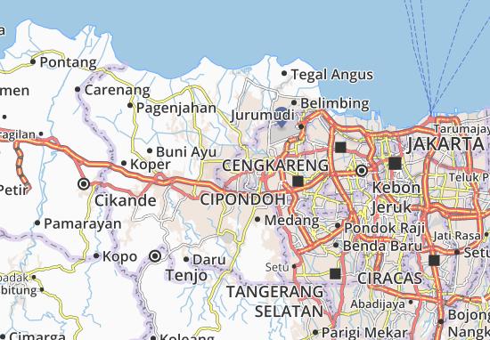 Jati Uwung Map