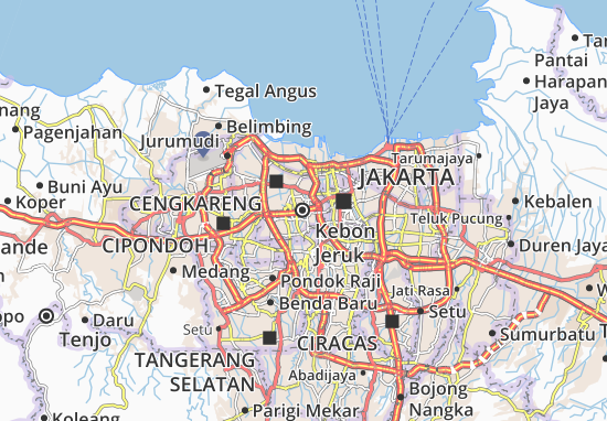 Mappe-Piantine Kebon Jeruk