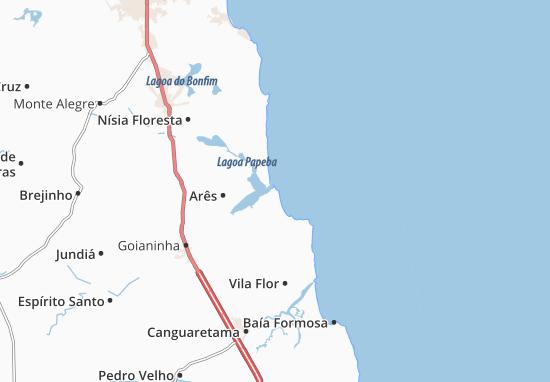 Mappe-Piantine Tibau do Sul