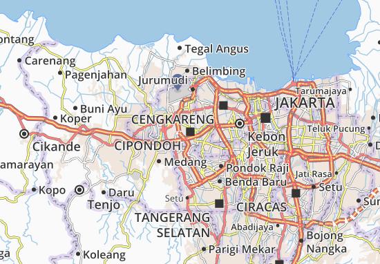 Cipondoh Map