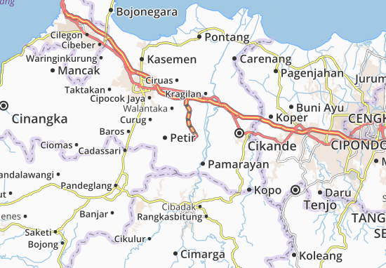 Cikeusal Map