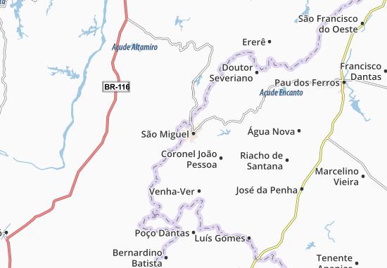 Carte-Plan São Miguel