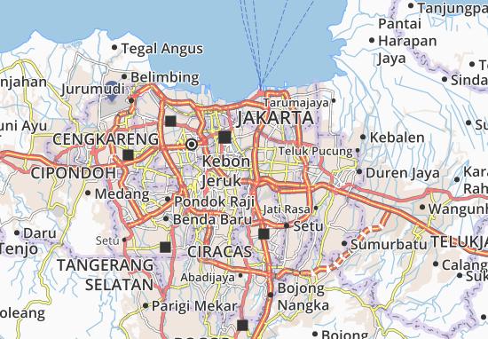 Tebet Map