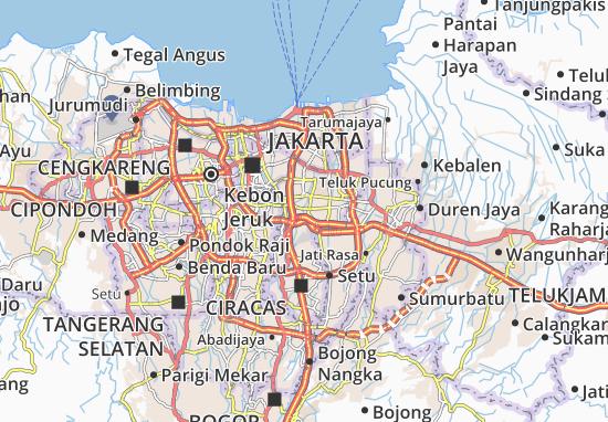 Cipinang Besar Selatan Map