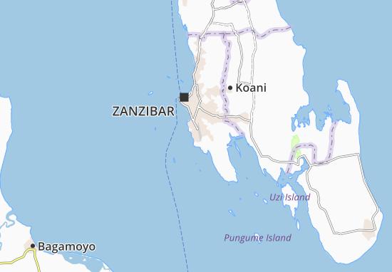 Chukwani Map: Detailed maps for the city of Chukwani - ViaMichelin on