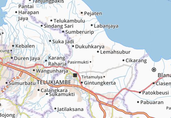 Rawamerta Map