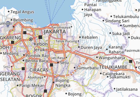 Bekasi Selatan Map