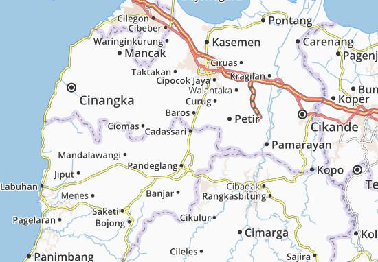 Cadassari Map