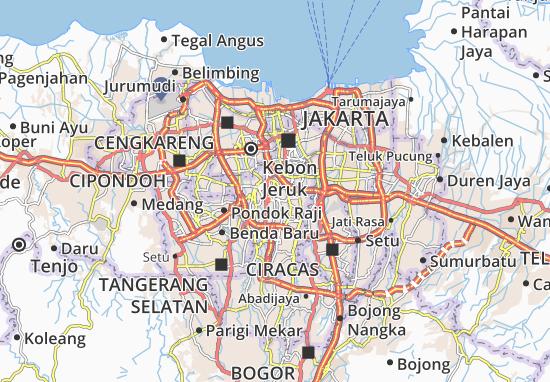 Kebayoran Baru Map