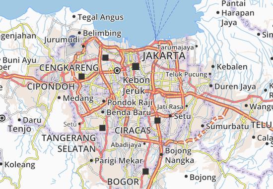 Mampang Prapatan Map
