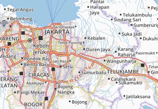 Bekasi Timur Map