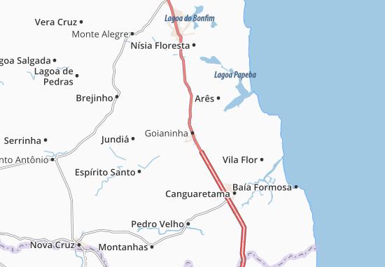 Mappe-Piantine Goianinha