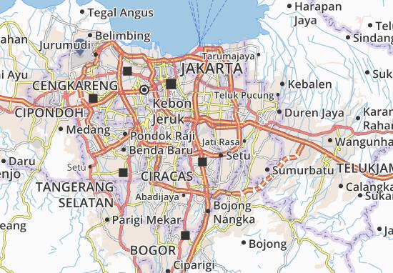 Kramat Jati Map