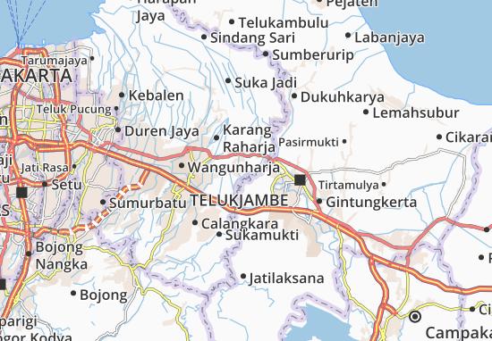 Cipayung Map