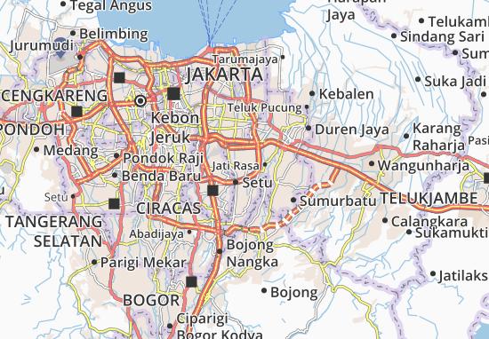 Pondokgede Map