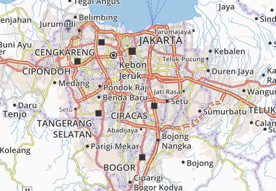 Pasar Minggu Map