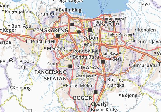 Cilandak Map