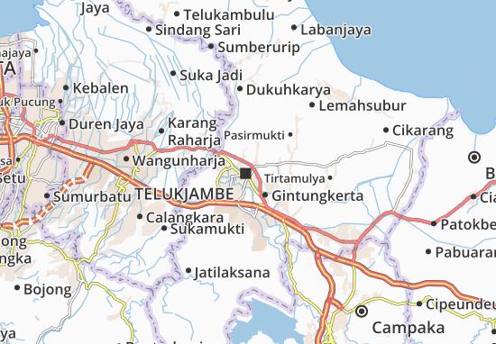 Mapa Telukjambe