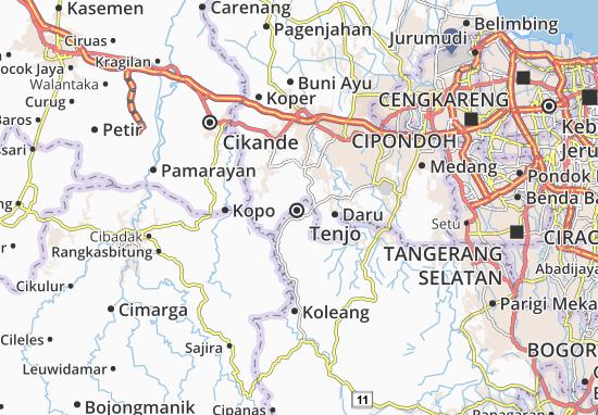 Tenjo Map