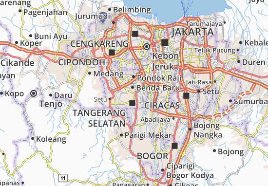 Carte-Plan Pamulang