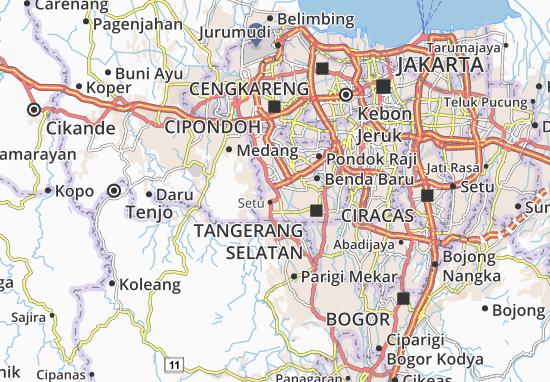 Serpong Map